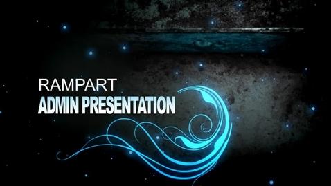 Thumbnail for entry RHS ADmin. Presentation 2012