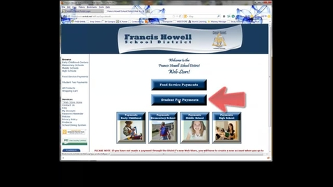 Thumbnail for entry Online Student Fees - RevTrak