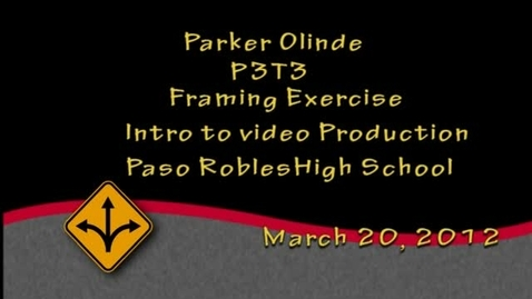 Thumbnail for entry P-Dub framing