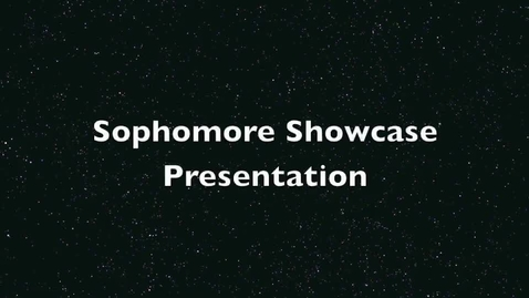 Thumbnail for entry Sophomore ShowCase