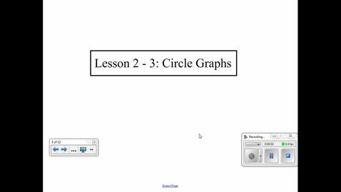 Thumbnail for entry Circle Graphs