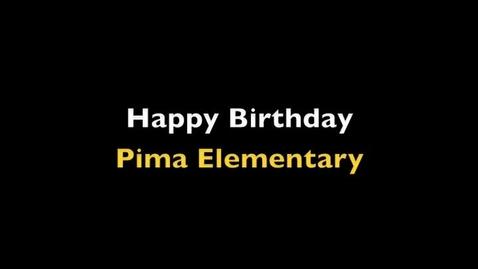 Thumbnail for entry Happy Birthday Pima