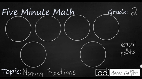 Thumbnail for entry 2nd Grade Math Naming Fractions