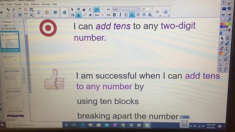 Thumbnail for entry Adding Tens to Any Two-Digit Number, Part 2