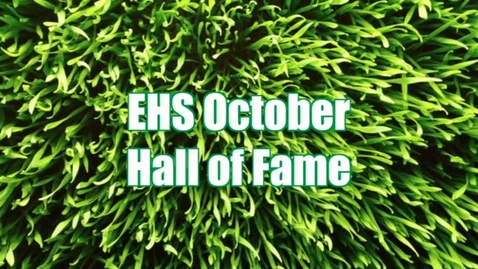 Thumbnail for entry October Students of the Month