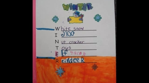 Thumbnail for entry JS Winter Acrostic