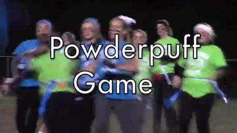 Thumbnail for entry Powderpuff Football 2013