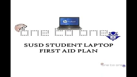 Thumbnail for entry SUSD HS LAPTOP REPAIR PROCEDURE