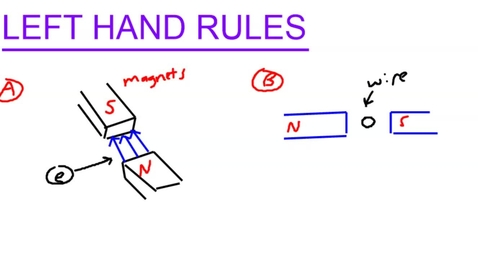 Thumbnail for entry Left hand rules for electricity.mp4