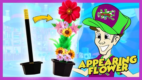 Thumbnail for entry Magic Flower Trick | Kids Learning Shows | Master Plaster Magic Tutorial