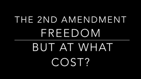Thumbnail for entry The Second Amendment Freedom But At What Cost