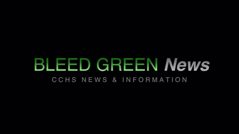 Thumbnail for entry 12-13-2017  Bleed Green News
