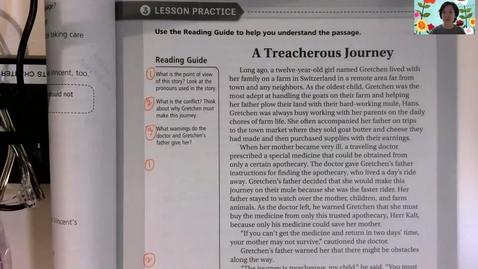 "Thumbnail for entry PSSA Test Prep Read Aloud: ""A Treacherous Journey"""
