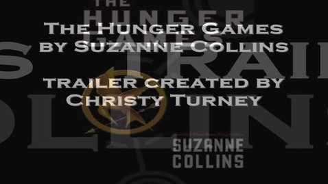 Thumbnail for entry HUNGER GAMES, by Suzanne Collins