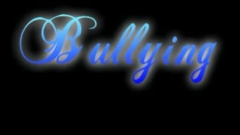 Thumbnail for entry Bullying Topics