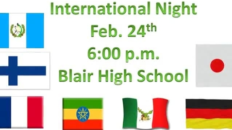 Thumbnail for entry International Night Commercial - Guatemala