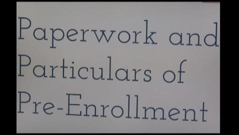 Thumbnail for entry CHS Enrollment Part 2