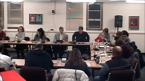 Thumbnail for entry MCPS Board of Trustees 01-09-2014