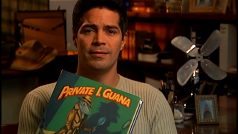 Thumbnail for entry Private I. Guana read by Esai Morales