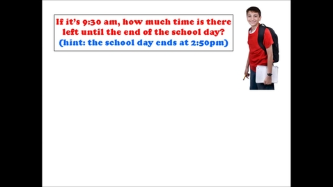 Thumbnail for entry Elapsed Time: AM to PM and vice-versa