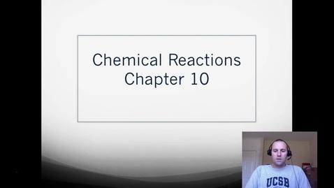 Thumbnail for entry 20. Balancing Chemical Equations