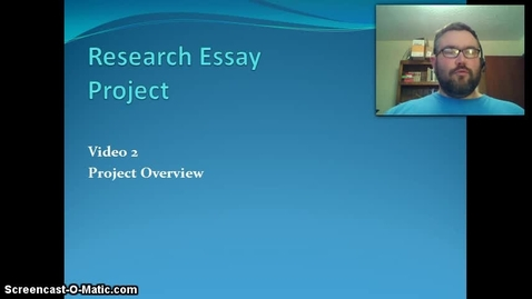 Thumbnail for entry Research Essay 2