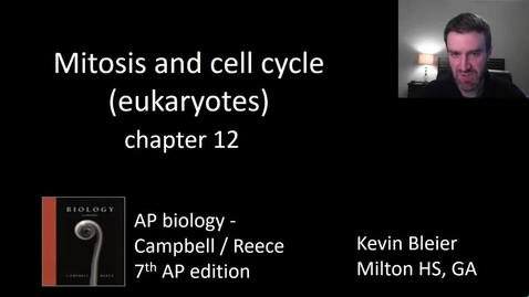 Thumbnail for entry Mitosis and the cell cycle