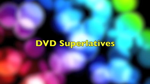 Thumbnail for entry Class of 2012 Video Yearbook Superlatives - Produced by A. Cador