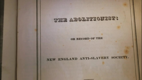 Thumbnail for entry Harriet Beecher Stowe- Abolitionist