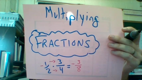 Thumbnail for entry Multiplying Fractions