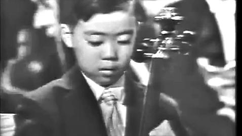 Thumbnail for entry Leonard Bernstein presents 7-year-old Yo-Yo Ma's high-profile debut for President John F. Kennedy