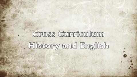 Thumbnail for entry Cross-Curricular Essay Writing