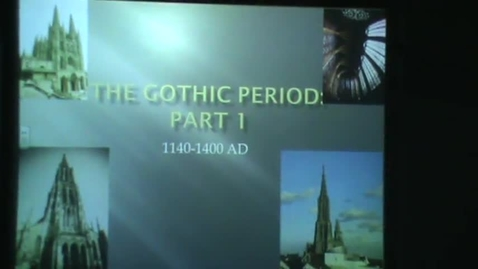 Thumbnail for entry Gothic Review Part I