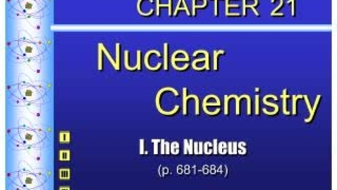 Thumbnail for entry Podcast Chemistry Chapter 21.1
