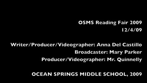 Thumbnail for entry OSMS Reading Fair 2009