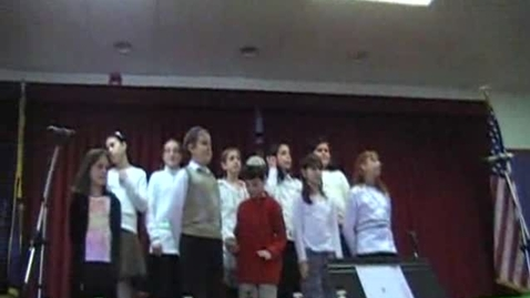 Thumbnail for entry Abrams 2008 Hanukkah Concert - Grade 4 Chorus, Part 3