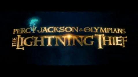 Thumbnail for entry Percy Jackson Short Film