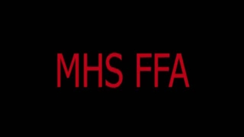 Thumbnail for entry Mustang HS FFA Program