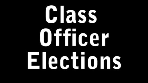 Thumbnail for entry Class of 2014 Candidate speeches