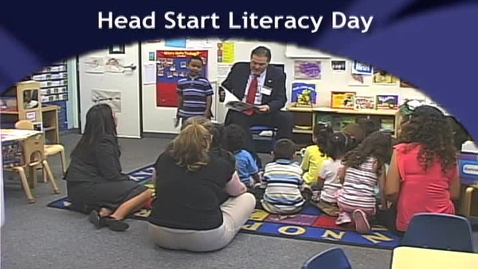 Thumbnail for entry Head Start Literacy Day