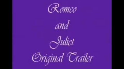 Thumbnail for entry Romeo and Juliet 1968 Trailer