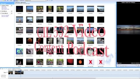 Thumbnail for entry Create the video with Windows MovieMaker