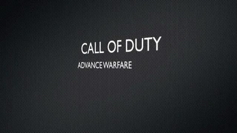 Thumbnail for entry COD