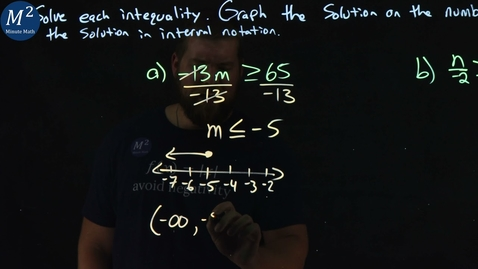 Thumbnail for entry How to Solve Inequalities and Graph Their Solutions | Part 2 | 2 Examples | Minute Math
