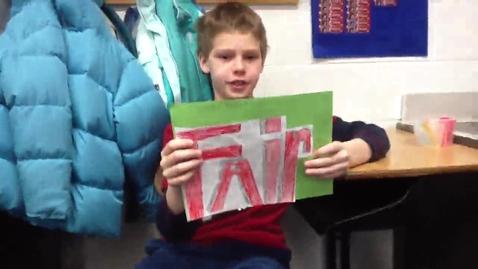Thumbnail for entry sean 5th grade