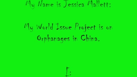 Thumbnail for entry Orphanages in China