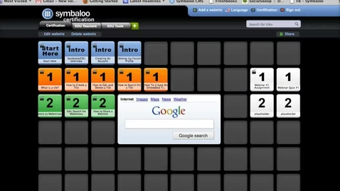 Thumbnail for entry SymbalooEDU Certification HW Section 2