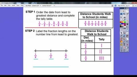 Thumbnail for entry Line Plots - Lesson 12.5