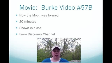 Thumbnail for entry Burke Video #57B Movie