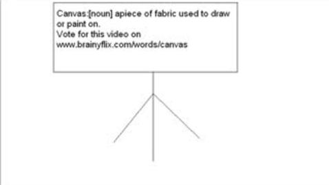 Thumbnail for entry Brainyflix SAT Vocabulary: Canvas